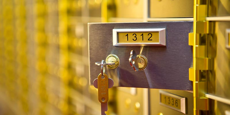 Safety Deposit Boxes Ipswich